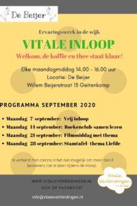 Vitale Inloop Geitenkamp @ De Beijer