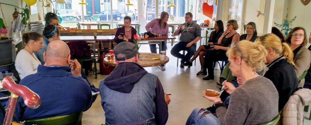 Kennismakingsbijeenkomst nieuwe en oude medewerkers