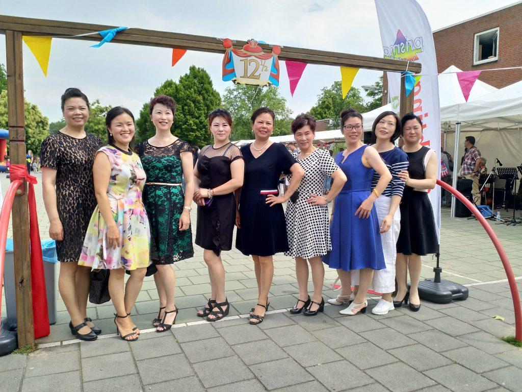 Chinese dansgroep