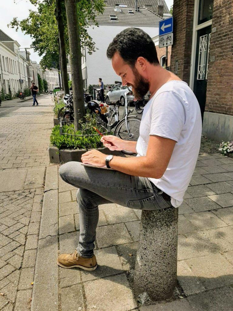 Urban Sketching tekenen op straat
