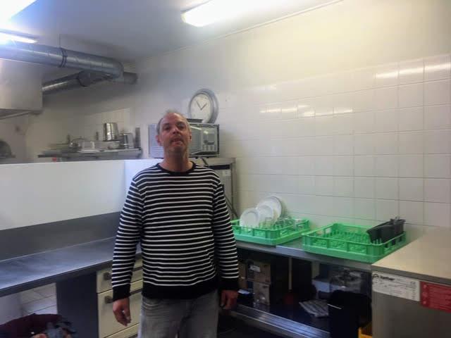 Roland van het keukenteam