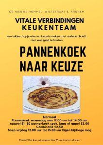 Pannenkoek Inloop @ De Nieuwe Hommel