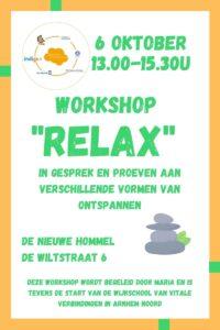 Wijkschool Workshop Relax @ De Nieuwe Hommel