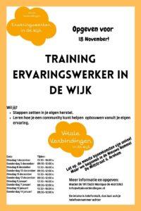 Training Ervaringswerker in de Wijk