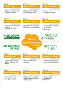 Zomerschool Vitale Verbindingen: Workshop Kleuren en mandela's @ De Madser