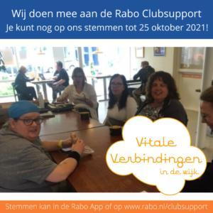 Rabo Clubsupport stemperiode: Stem op Vitale Verbindingen!